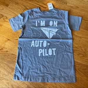 "NWT Oshkosh t-shirt. ""I'm on auto-pilot"""